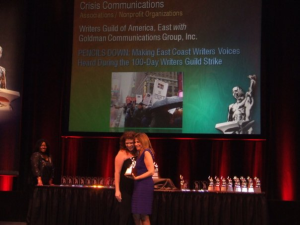 Awards Accolades Goldman Communications And Public Relations